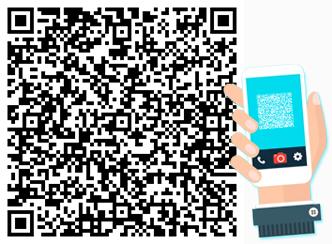Fotografa il QRCode e salva i nostri contatti nel tuo telefono